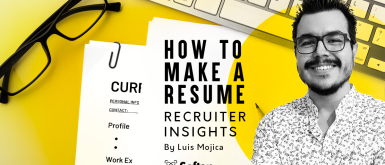 How to make a resume CV writing tips